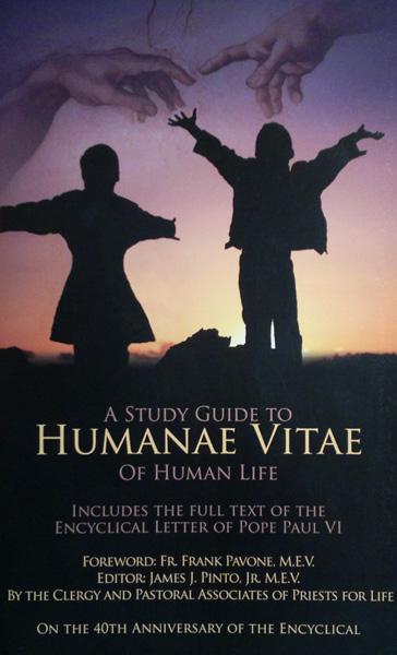 A Study Guide to Humanae Vitae - Of Human Life, Jim Pinto, Editor - Product Image