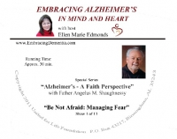 """Alzheimer's: A Faith Perspective"" with Fr. Angelus M. Shaughnessy - Complete Series Audio Set  - Product Image"