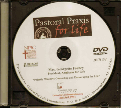Pastoral Praxis for Life 2012 - Mrs. Georgette Forney - DVD #3 - Product Image
